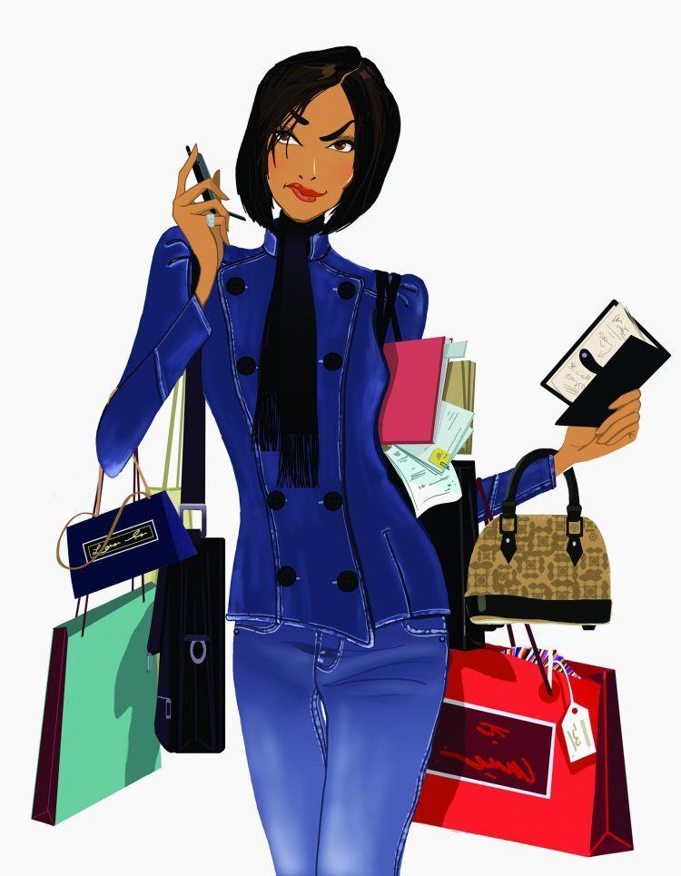Открытка деловой женщине, картинки