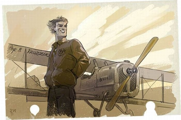 картинки пилотов арт гладкошерстных мини