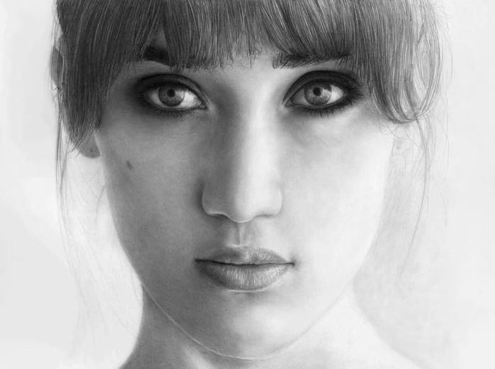 pencil drawing portrait