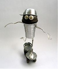TopRq.com search results: Robot orphan sculptures by Brian Marshall
