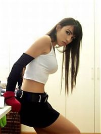 TopRq.com search results: cosplay girl wearing tifa lockheart costume