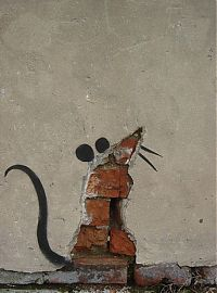 TopRq.com search results: Graffiti drawings by Banksy