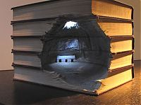TopRq.com search results: Book carvings projects by Guy Laramée