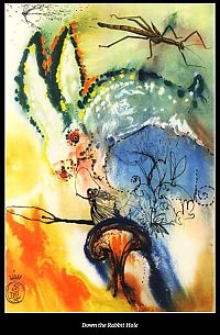 TopRq.com search results: Alice's Adventures in Wonderland by Salvador Dalí