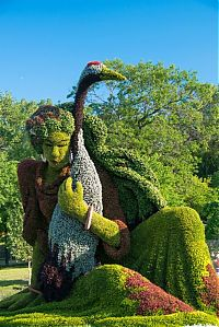 Art & Creativity: Montreal International Mosaicultures 2013 Show Exhibition, Montreal Botanical Garden, Quebec, Canada