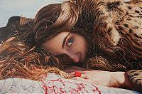 Photorealistic portraits by Yigal Ozeri