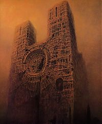 TopRq.com search results: Fantastic realism and surrealistic oil paintings by Zdzisław Beksiński