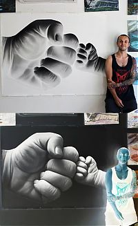 TopRq.com search results: Photorealistic painting art by Dino Tomic