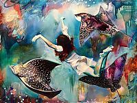 Oil paintings by Dimitra Milan