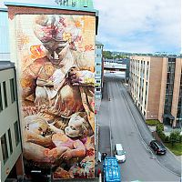 Art & Creativity: Street art graffiti by Pichi & Avo