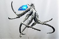 TopRq.com search results: Hubcap sculpture creatures by Ptolemy Elrington