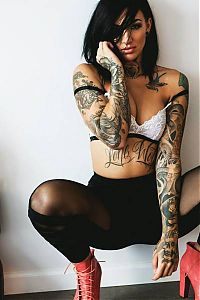 TopRq.com search results: tattoo girl