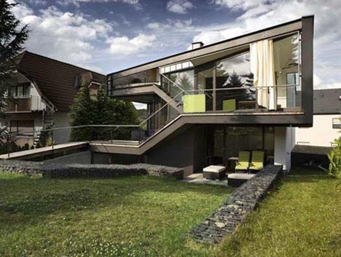 проекты красивых и необычных домов