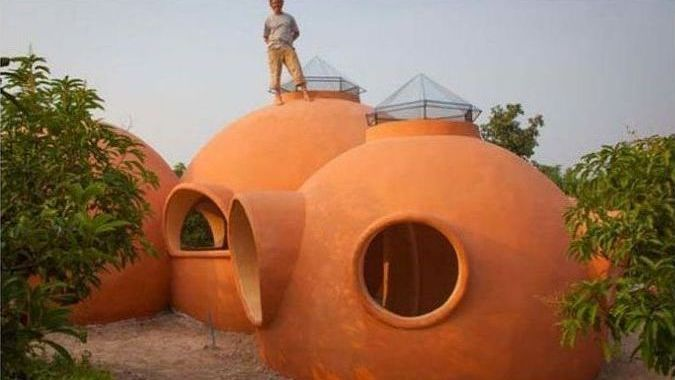 Vacation dome house by Steve Areen, Thailand