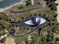 Architecture & Design: Eye of Horus home of Naomi Campbell by Luis de Garrido, Isla Playa de Cleopatra, Turkey