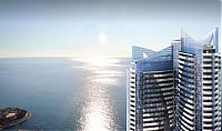 TopRq.com search results: Odeon Tower by Alexander Giraldi, Larvotto beach, Ligurian Sea, Monaco