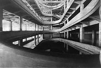 Architecture & Design: Rooftop racetrack, Lingotto automobile factory, Via Nizza, Turin, Italy