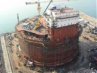 Architecture & Design: construction of the oil rig offshore platform