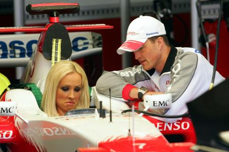 Cora and Ralf Schumacher, Toyota, 2006-05-06