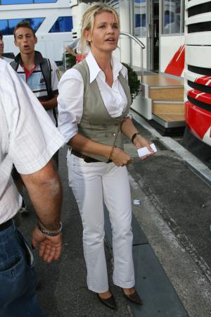 michael schumacher wife. Corina Schumacher Wife Of Michael Schumacher Monza