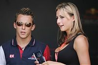 TopRq.com search results: Girl In The Paddock With Christian Klien Indianapolis 2006-07-02