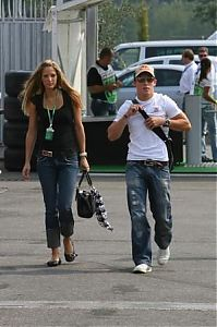 TopRq.com search results: Christian Klien Red Bull With A Girl Monza 2006-09-07