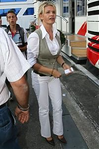 TopRq.com search results: Corina Schumacher Wife Of Michael Schumacher Monza 2006-09-10