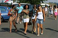 TopRq.com search results: F1 Girls Arriving At The Circuit Magny Cours 2006-07-15