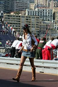 TopRq.com search results: Girl In The Pitlane - Monaco 2006-05-25