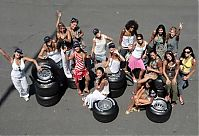 TopRq.com search results: Girls In The Paddock With Tires Magny Cours 2006-07-14