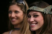 TopRq.com search results: Girls, in Roman costumes, Vallelunga WSBK 2007