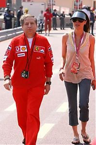 TopRq.com search results: Jean Todt With His Girlfriend Michelle - Monaco 2006-05-27