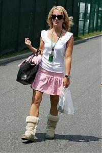 TopRq.com search results: Liselore Kooijman Girlfriend Of Christijan Albers Magny Cours 2006-07-13