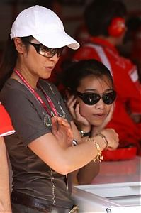 TopRq.com search results: Michelle Yeoh Girlfriend Of Jean Todt Magny Cours 2006-07-14