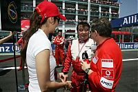 TopRq.com search results: Michelle Yeoh With Jean Todt Magny Cours 2006-07-16