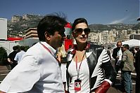 TopRq.com search results: Pasquale Lattuneddu With Slavica Ecclestone - Monaco 2006-05-28