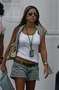 TopRq.com search results: Rafaela Bassi Girlfriend Of Felipe Massa Hockenheim 2006-07-28