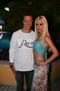 TopRq.com search results: Ralf And Cora Schumacher - Monaco 2006-05-26