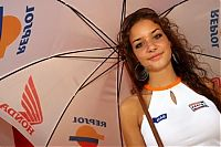 TopRq.com search results: Repsol Grid Girl, Grand Prix World Championship, Round 7, Catalunya, Spain, 10 June 2007