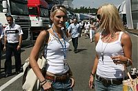 TopRq.com search results: Sine Beckmann And Cora Schumacher Hockenheim 2006-07-30
