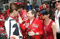 TopRq.com search results: Slavica Ecclestone With Jean Todt - Monaco 2006-05-28