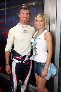 TopRq.com search results: Sophye Gassmann And David Coulthard Red Bull Racing Hockenheim 2006-07-28