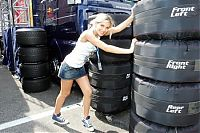 TopRq.com search results: Sophye Gassmann Of The Red Bull F1 Girl Hockenheim 2006-07-28