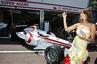 TopRq.com search results: Super Aguri Girl - Monaco 2006-05-26