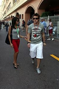 TopRq.com search results: Team Arrives At The Paddock - Fernando Alonso With His Girl Friend - Monaco 2006-05-24