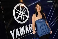 TopRq.com search results: Yamaha pit babes, Miss Yamaha 2009