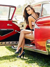 TopRq.com search results: girl with old antique retro classic car