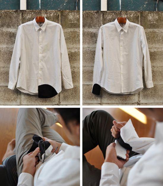 Как переделать рубашку фото