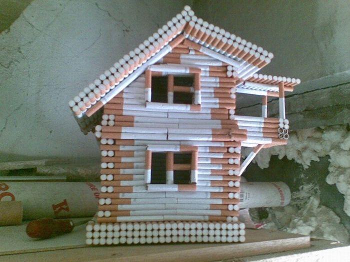 Из чего сделать дом в домашних условиях
