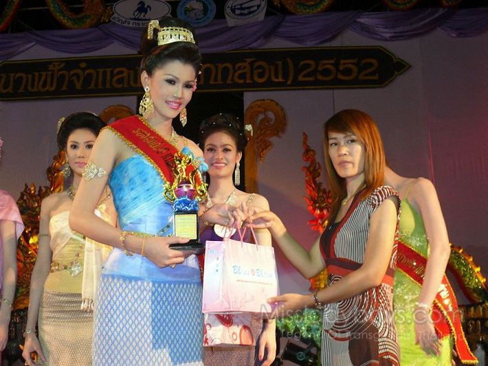 Tranard Thanwiset Most Beautiful Thailand Transgender Pageant Winner